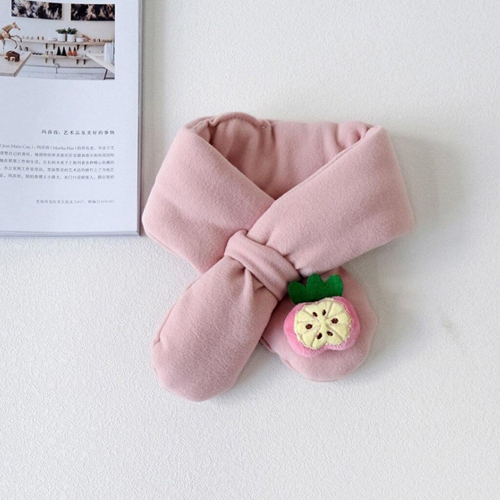 Шарф, коллекция года, весна-зима, новинка, для мальчиков и девочек, милые теплые шали, шарфы, воротник, уплотненный зимний шарф, милые детские шарфы,# D19