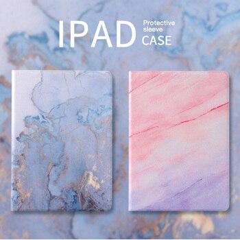 Para Ipad Mini 5 4 3 2 1 soporte plegable funda inteligente de cuero para Air /Air2/Air3 /Pro10.5 accesorios para tabletas funda