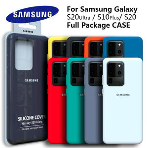 Samsung Silicone Cover S20-Case Back-Protective S20ultra S20plus Soft-Touch Galaxy High-Quality