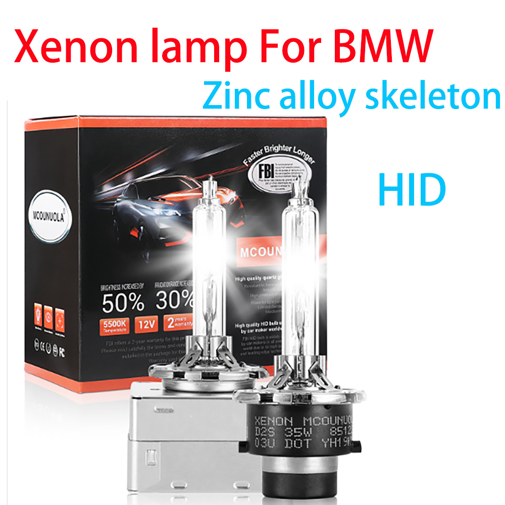 2PCS <font><b>D1S</b></font> D2R D2S D3S D4S D4R Car Headlights HID Bulb Xenon Lamp For BMW X3 X4 X5 X6 3-Series E90 E91 E92 E93 E70 E71 E72 image