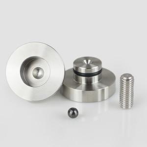 Image 5 - Altavoces de Audio HIFI para amplificador de chasis de acero inoxidable/aleación de aluminio, amortiguadores, almohadilla de pie, Base de pies, clavos, soportes G1023