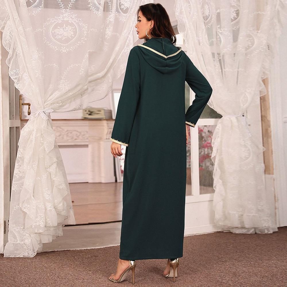 Abaya Dubai Turkey Muslim Fashion Hijab Dress Islam Clothing African Long Dresses For Women Robe De Moda Musulman Djellaba Femme Women Women's Abaya Women's Clothings