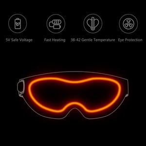 Image 5 - Xiaomi Mijia להט 3D סטריאוסקופית חם לדחוס עין מסכת Surround חימום להקל על עייפות USB סוג C מופעל לעבודה לימודי הפנאי