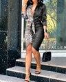 2020 Новое поступление футболка знаменитого бренда женское платье, с v-образным вырезом, с длинными рукавами, рюшами и Офисные женские туфли м...