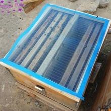 Инструменты для пчеловодства со сложенными краями и гвоздями для улей крышка с нейлоновой пластиковая сетка чехол с блестками и сетчатой пряжи