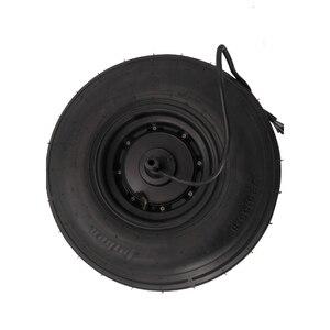 Motor do cubo 60v1000w motor18 polegadas 225/55-8 pneu de vácuo para a roda elétrica da motocicleta sem escova não-engrenagem
