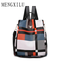 Women Anti-theft Backpack Waterproof Fabric Large Female Shoulder Bag Capacity Simple Style Casual Mochila Travel