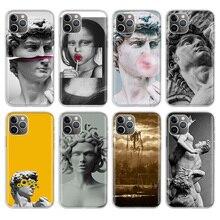 Fashion Girl Boy Art David Phone Case For Apple iPhone 11 Pro 6 6S 7 8 Plus 10 X XS MAX XR 5 5S SE Phone Case Cover nbdruicai black women art and little girl fashion phone case cover for iphone 11 pro xs max 8 7 6 6s plus x 5 5s se xr case