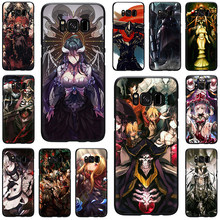 Overlord Anime Silicone phone case for Galaxy S6 S7 Edge S8 S9 S10 Plus S10e Note 8 9 J6 A6 Plus A8 A9 2018(China)
