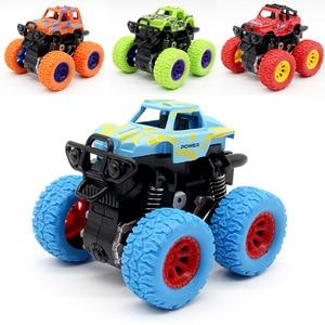 Image 3 - Camión de inercia verde para niños, SUV, vehículos de fricción, juguete de regalo