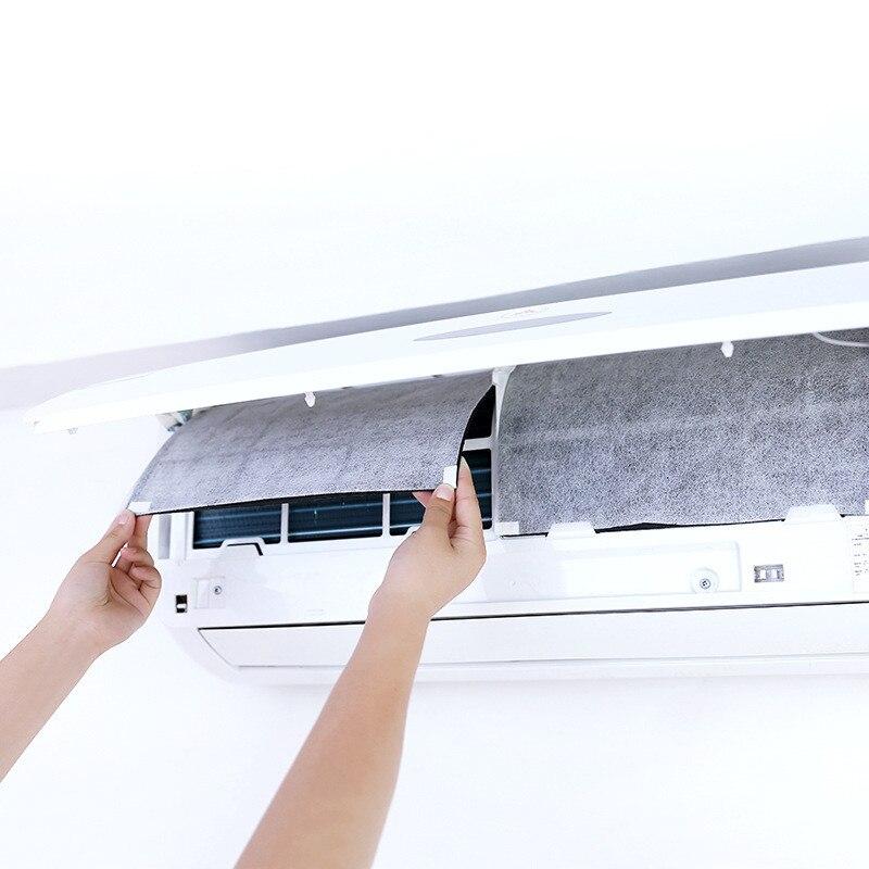 10Pcs Klimaanlage Filter Wind Outlet Staubdicht Schutz Abdeckung DIY Selbst Haftung Luft Reinigung Deodorant Filter Papier-in Klimaanlage-Abdeckungen aus Heim und Garten bei title=