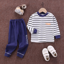 2020 Autumn New Baby Clothing Set Cartoon Cotton Baby Boys Clothing Girls Suit Set Year Baby Clothes Kids Christmas Clothes cheap Unini-yun Fashion O-Neck Pullover 13 37 Acrylic Full Regular Fits true to size take your normal size Coat