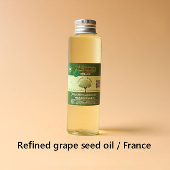 Refined grape seed oil, suitable for all skin, whitening and freckle removing, repairing skin cells, hydrating and moisturizing grape seed oil refined antioxidant skin protection beauty weight loss superior quality pure natura