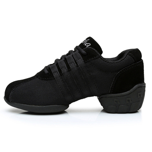 Image 3 - DIPLIP ใหม่โมเดิร์นรองเท้าเต้นรำด้านล่างนุ่ม JAZZ รองเท้าเต้นรำรองเท้ากลางแจ้ง Breathable รองเท้าผู้หญิงขนาด 34  45