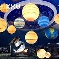Креативное украшение в виде планеты E27 осветительное приспособление для жилых/коммерческих/школьных/офисных/художественных/библиотечных ...