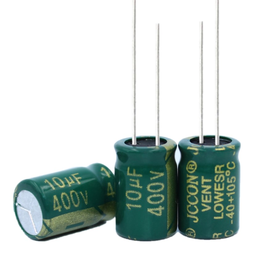 10 шт., высококачественный электролитический конденсатор 400V10UF 10*13 мм 10 мкФ 400V 10*13