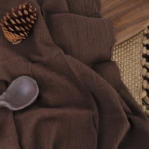 Image 5 - Paño de algodón y lino con textura plisada, 45x65cm, para comida horneada, mesa, sesión de fotos, accesorios de fondo para fotografía
