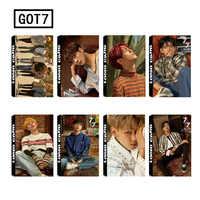 30 unids/set KPOP GOT7 7FOR7 tu álbum foto tarjetas fotográficas LOMO tarjeta Jackson postal decoración y los suministros de regalo