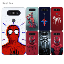Uyellow Red Spiderman Soft Phone Case For LG G4 G5 G6 G7 G8 G8S V10 V20 V30 V30S V40 V50 Q6 Q7 Q8 Cover K8 K10 2018 2017 Coque