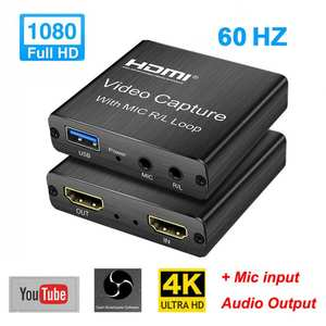 Video-Card Broadcast Live-Streaming HDMI 1080P To New 4K USB Usb-2.0 Board-Game Loop-Out