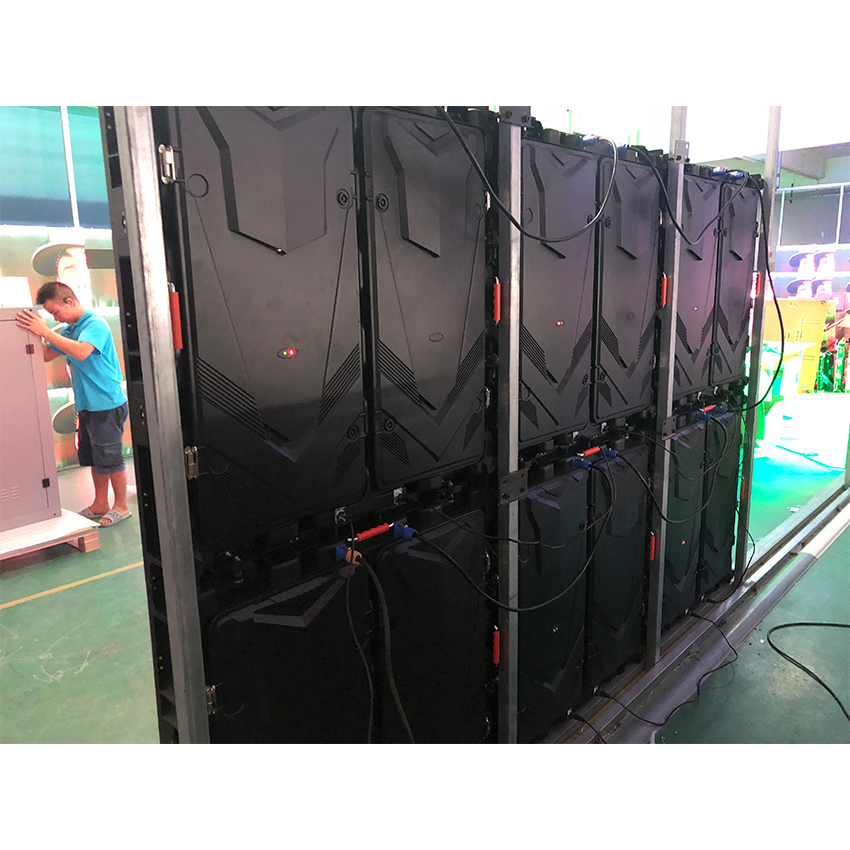 P5 Indoor 960x960mm Die Casting Aluminium Cabinet RGB Full Color 192*192dots Led Screen Video Wall Panel Display For Stage