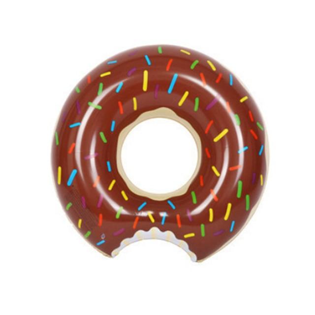 Bouée gonflable à donuts, flotteur de piscine, boule d'eau, canapé d'été, matelas à Air, anneau de natation 2