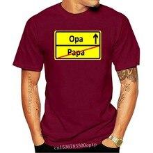 ORTSSCHILD PAPA - OPA -Herren Unisex T-Shirt Gr. S Bis 3XL Vers. Farben T Shirts Short Sleeve Leisure Fashion Summer