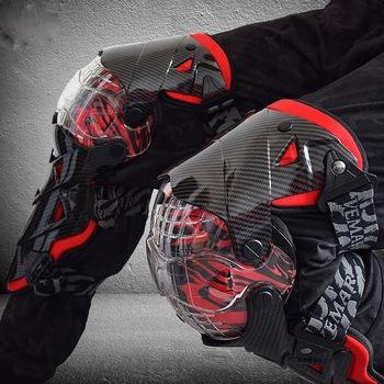 Ochraniacze kolan motocyklowych ochraniacze na golenie ochraniacze na kolana ochraniacze na kolana Motocross MX tanie i dobre opinie E-18