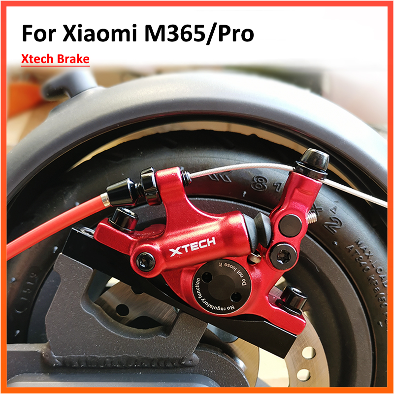 Xtech – frein hydraulique en alliage d'aluminium pour Scooter électrique, pour Xiaomi M365/Pro 1S Pro 2, freins à disque, pièces de Piston