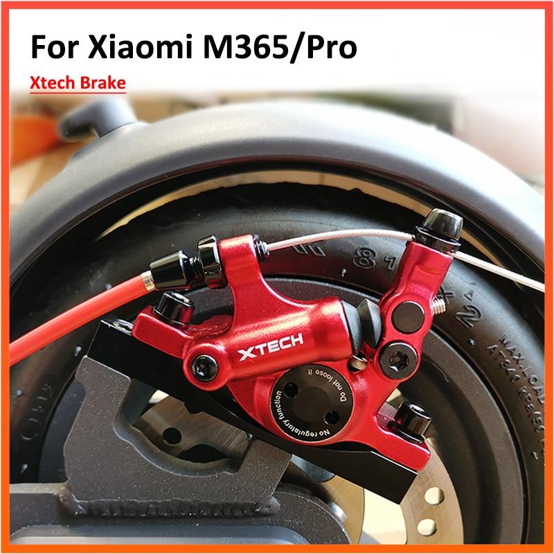 Freno hidráulico de aleación de aluminio actualizado Xtech para Xiaomi M365/Pro Scooter Eléctrico M365 frenos de disco piezas de pistón de disco hidráulico