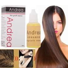 Andrea-huiles essentielles pour la croissance des cheveux, 20ml, perte de cheveux, liquide, Huile Essentielle, Dense, rapide, coup de soleil, restauration pilatoire