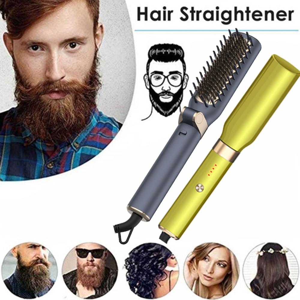 Novo alisador de cabelo aquecimento elétrico em