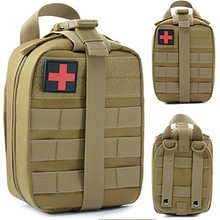 Tactical First Aid Bag Medical Kit Bags Molle EMT Emergency Survival Pouch Outdoor Camping Climbing Medical Box Package brand new outdoor edc molle tactical pouch bag emergency first aid kit bag travel camping hiking climbing medical kits bags