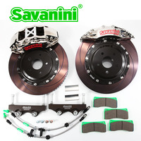 SAVANINI Racing Car Big Brake Caliper Kit 6/4POT PSITONS Brake Rotors For Ford Focus ST RS Volvo v40 355mm Front