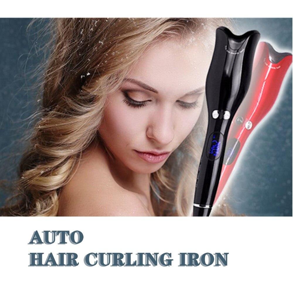 Cheveux professionnels Air Spin Curl 1 pouce en céramique rotatif électrique Air Spin bigoudis fer à friser automatique pour tous les Types de cheveux