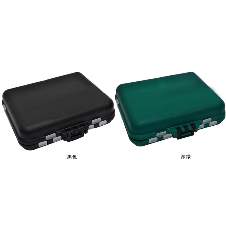 Lure Tool Box Fishing Gear Bait Small Accessories Box Double Sided Storage Box Sundry Goods Parts Box Special Offer Lure Box Floodlights     - title=