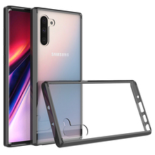 Soft Silicon TPU/PC Case For Samsung Galaxy Note 10 Pro Note10 Plus Fundas Capa Shockproof Crystal Clear Shell Hard Back Cover toiko chiron clear case for samsung galaxy note 10 shockproof protection bumper shell note 10 plus pro hybrid pc tpu back covers