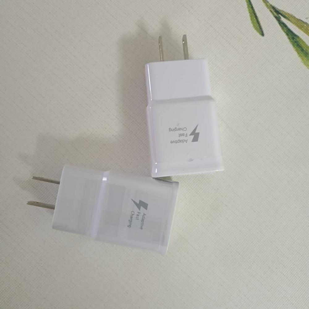 10pcs/lot US/EU/AU/UK Plug Wall Charger Fast Charger Adapter Adaptive Fast Charging For Samsung S6 Note 4 5 S7 Travel Charger
