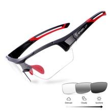 цена на Photochromic Cycling Glasses Outdoor Sports Bike Glasses MTB Bicycle Sunglasses Protection Goggles Bike Eyewear Myopia Frame
