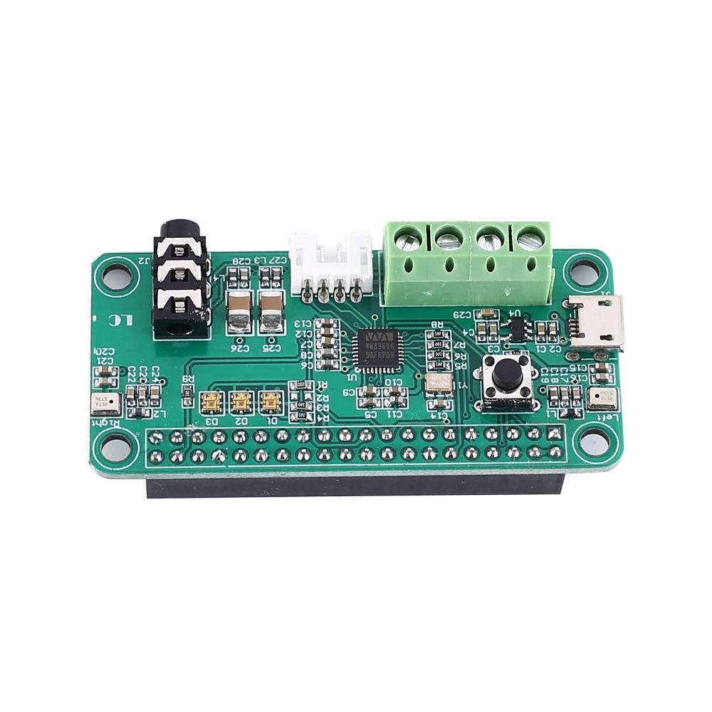 WM8960 Intelligent Voice Recognizer Audio Decoder Module Stereo 1W Amplifier Dual MIC Input for Raspberry Pi