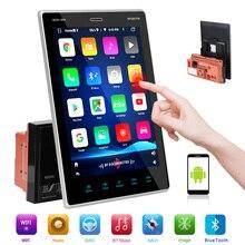 Autoradio avec lecteur multimédia, écran tactile IPS HD de 9.5 pouces, Bluetooth, GPS, MP5, FM, BT, 1 go + 16 go, interconnexion pour téléphone portable, 2 Din