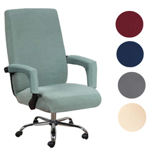 Chair-Cover Seat-Case Computer Rotating-Chair Office-Lift Boss Elastic Modern with Removable