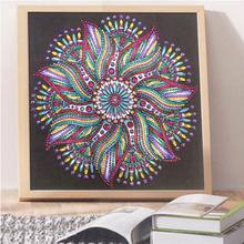 Colorful Flower 5D Special Shaped Diamond Painting Embroidery Needlework Rhinestone Crystal Cross Crafts Stitch Kit DIY GXMA(China)