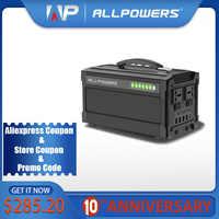 ALLPOWERS 220V Power Bank 78000mAh generator przenośny Power Station AC/DC/USB/type-c wielokrotnego wyjścia UPS Power Battery.