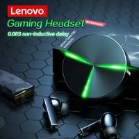 Lenovo GM1 TWS auricolari da gioco cuffie Bluetooth a bassa latenza HIFI ACC cuffie Stereo Aptx sport auricolari impermeabili con microfono