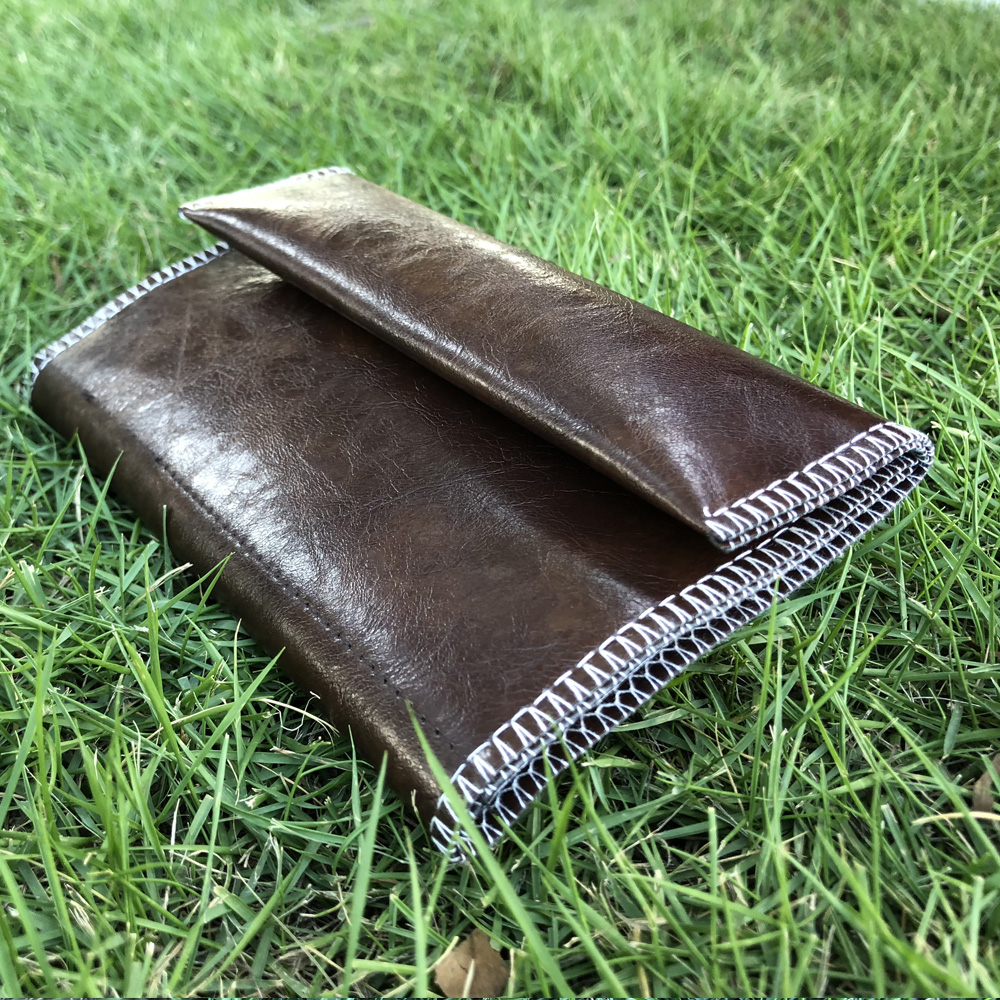 HORNET Leather Tobacco Pouch Portable Cigarette Rolling Pipe Tobacco Bag Case Wallet Tip Paper Holder Smoking Accessories 3