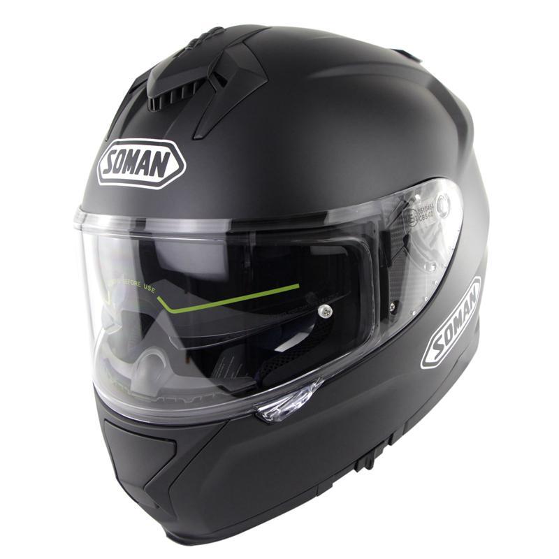Casque de moto course casque d'équitation unisexe casque de motocross Double lentilles compatibles avec des lunettes capacete de motocicleta