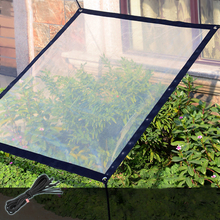 Waterproof Sun Shelter Rainproof Film Transparent Bird Proof Tool Tarpaulin Succulent Plant Insulation For Garden Anti-freezing