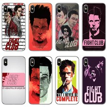 Fight Club movie poster For Xiaomi Mi A3 A2 lite A1 6 6x 5 5s 5x 4c 4i max mix 1 2 2s 3 Pocophone F1 Phone Case Back Cover(China)