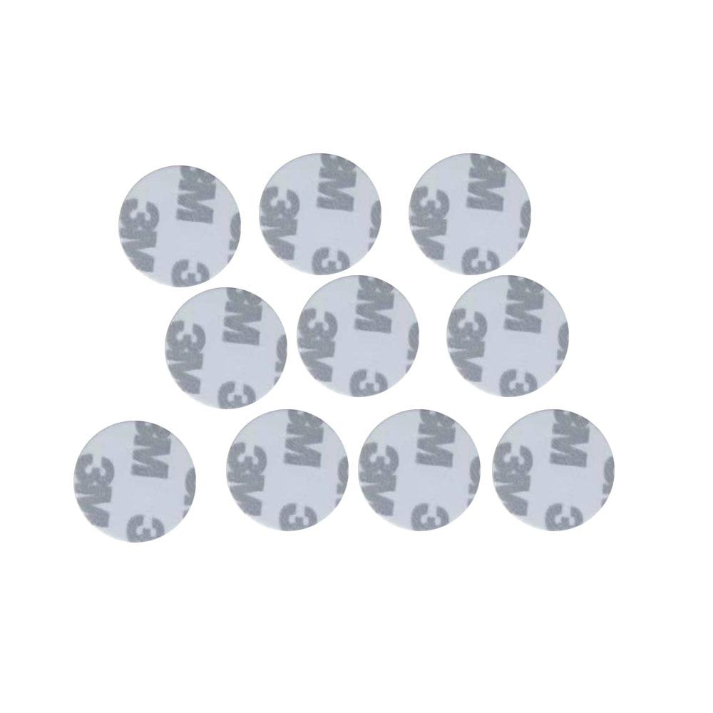 (10 шт./лот) TK4100(EM4100) новые наклейки Dellon RFID 125 кГц 3M монеты 25 мм смарт-метки карта управления доступом только для чтения